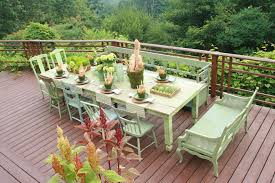 Patio Furniture Chattanooga Chattanooga Furniture Bank With Rustic Deck And Centerpiece Deck