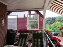 balkon regenschutz wetterschutz rollos mester bielefeld