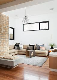 australian living room ideas living room contemporary with pendant