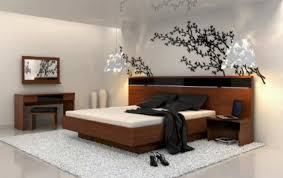 Japanese Bedroom Design Ideas Modern Bedroom In Japanese Inspiration With Great Wallpaper And