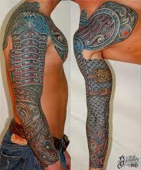 mechanical arm tatoo pics