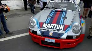 porsche racing colors rare martini porsche carrera rsr race car acceleration at reims