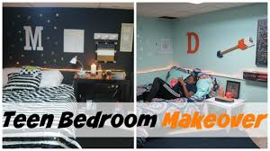 teen girls bedroom makeover two rooms in one youtube
