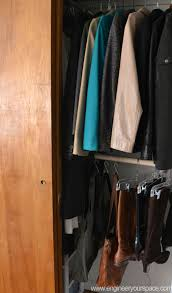 diy double closet hanging rod 4 steps with pictures