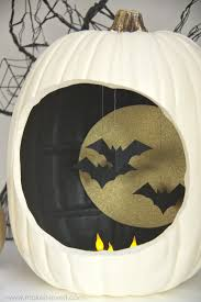 Halloween Flying Bats Autumn Decor Pumpkins With Hanging And Flying Bats