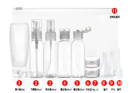 travel bottles images 11 pcs set travel empty small cream bottles foaming pump container jpg
