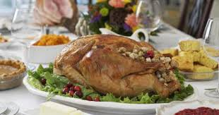traditional thanksgiving dinner menu shopping list livestrong