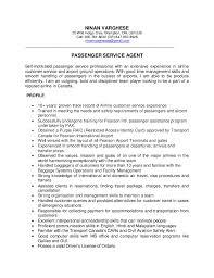 Airline Customer Service Resume Ninan Varghese Resume Psa