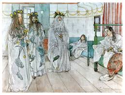 for karin s name day 1899 carl larsson wikiart org