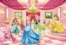 disney kinderzimmer fototapete kindertapete princess ballroom 368x254cm disney