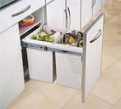 bac poubelle cuisine poubelle cuisine tri selectif 3 bacs maison design bahbe com