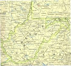 State Of Ohio Map by