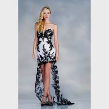 black and white dresses black and white high low dress naf dresses