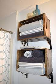 Shelves In Bathrooms Ideas Bathroom Shelves Diy Bathroom Storage Ideas Storing Towels