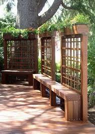 fence garden planters bing images living wall pinterest