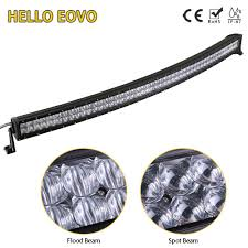 best construction work lights hello eovo 5d 52 inch curved led light bar for work indicators