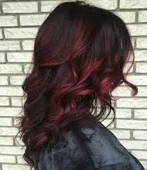 brunette hairstyle with lots of hilights for over 50 image result for red highlights in brown curly hair mi estilo