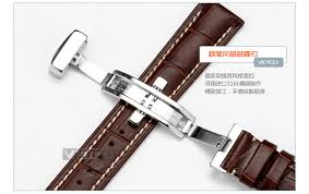 tissot bracelet leather images Vetoo double calfskin leather watch straps by longines tissot