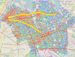 Map Of Queens Visualizing Nyc Traffic Accidents Before And After Vision Zero