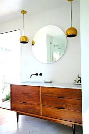 mid century modern bathroom vanity houzz with regard to awesome