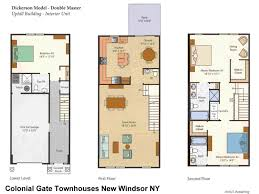 model floor plans colonial gate new windsor ny floor plans