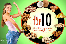 the top 10 nuts for hormones and weight loss
