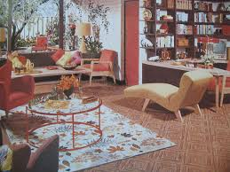 1950s living and dining room 1950 living room design living room