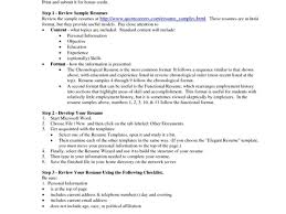 copy of a resume format 100 images exles of resumes