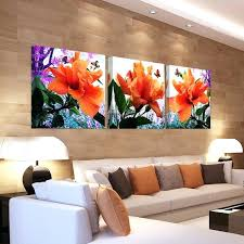 cheap art prints hibiscus wall decor paintings on canvas flower prints cheap art