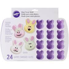 bunny mold wilton 24 bunny silicone treat mould co uk kitchen
