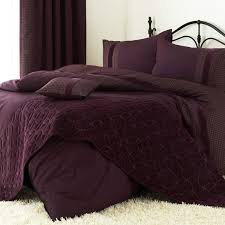 Original Duvet Covers Aubergine Double Size Bedding Sets With Aubergine Duvet Cover And