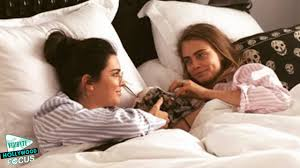 Cuddle In Bed Kendall Jenner And Cara Delevingne Cuddle In Bed Together With