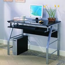 24 Inch Wide Computer Desk Clear Acrylic Desk Wayfair