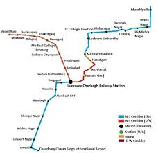 Noida Metro Route Map by Real Estate Provider