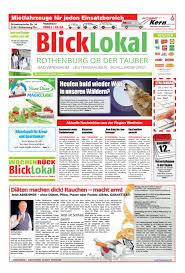 Atu Bad Mergentheim Blicklokal Rothenburg Kw 45 By Blicklokal Wochenzeitung Issuu