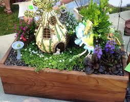 miniature fairy garden in the box size of a shoe box kids room