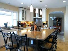 designing a kitchen island with seating modern kitchen with island and table kitchen island used as a