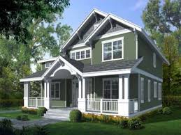 Craftsman Home Plan by House Plans Modern Craftsman