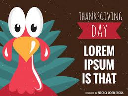 turkey thanksgiving design vector