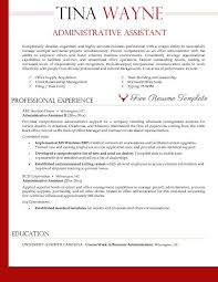 example resume administrative assistant objective examples with