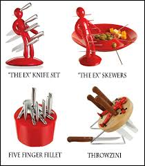 the ex wacky wednesday the ex knife set kitchen designs by ken kelly