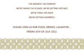 marriage invitation sle marriage invitation format for friends wedding invitation