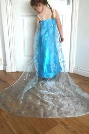 look we made an u0027elsa dress u0027 from frozen