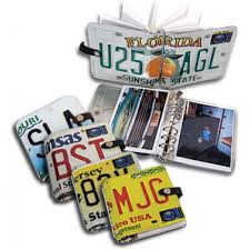 Photo Albums For 4x6 Pictures 4x6 Photo Album Made From A License Plate