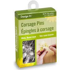 Corsage Pins Design It Corsage Pins 90pcs White Walmart Com