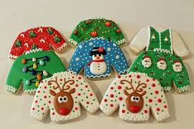 ugly christmas sweater cookies 2013 cookie connection