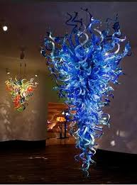Blown Glass Chandeliers Sale Free Shipping Led Bulbs Modern Dale Chihuly Murano Glass Pendant