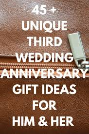 3rd wedding anniversary gifts for best 25 3rd wedding anniversary ideas on 3rd wedding