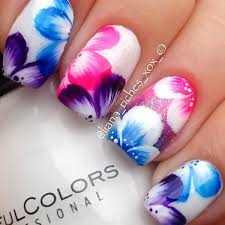 best 25 hawaiian nail art ideas on pinterest hawaiian flower