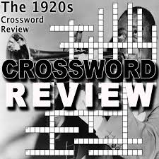 1920s crossword puzzle review roaring 20s teaching history
